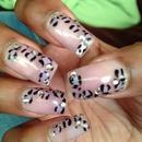 Cheetah Nails!!