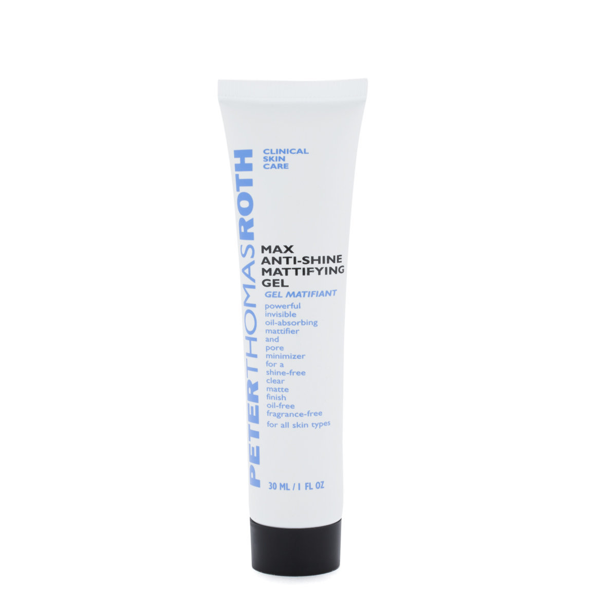 Peter Thomas Roth Max Anti-Shine Mattifying Gel product swatch.