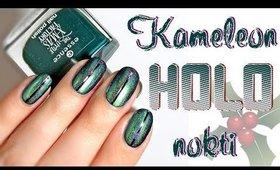 Praznični • KAMELEON • holo nokti | bydanijela.com