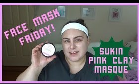 FACE MASK FRIDAY! SUKIN PINK CLAY MASQUE