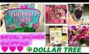 Dollar Tree Vlog : Girly Bridal Shower Shopping