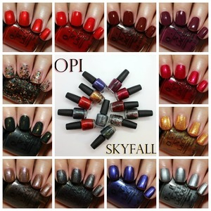 OPI Skyfall Collection for Holiday 2012