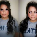 Romantic smokey eyes