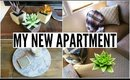 Moving Day! HAUL, Apartment Tour & New Furniture