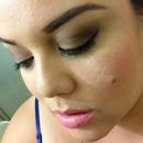 my makeup today ..
