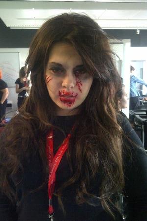 Zombie makeup!!