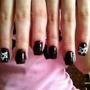 Pentagram Nail Design