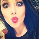 Eyelashes and Lipstick<3