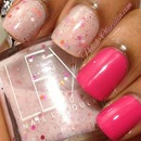 Lex Cosmetics Tuillieries and Sally Hansen Fuchsia Power