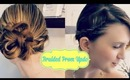 Easy Braided Prom Updo for Medium to Long Hair (Collab with BeautyWithErin)