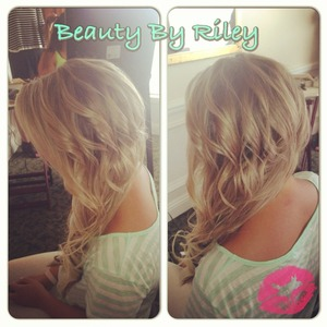 YouTube.com/rileyyvalentine  Facebook.com/beautybyriley  Instagram: rileyyvalentine