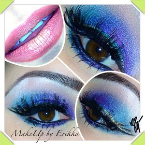 Dramatic Colored Liner