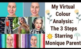 My Virtual Colour Analysis Service: The 3 Steps Starring Monique Parent -- What Palette Will She Be?