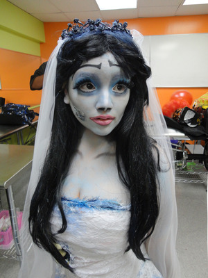 My final look for my Emily look at my Theatrical makeup competition.