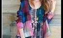DIY: Dip-Dye Flannel Shirt - Urban Outfitters Inspired