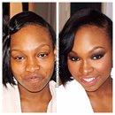 Glowey skin and smokey eyes! #beautybydchinchilla