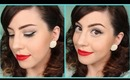 Get Ready With Me! Vintage Hair & Makeup