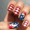 American Beauty Nailart