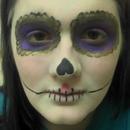 Miranda Binns-Calvey as the Sugar Skull - Alicia In Wonder Tierra