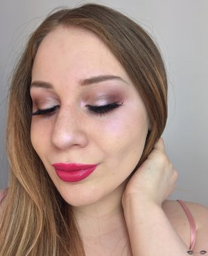 Mauve...MEET PINK!  http://theyeballqueen.blogspot.com/2017/02/valentines-day-wearable-mauve-smokey.html