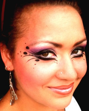 another performance look i did last year for our summer shows,