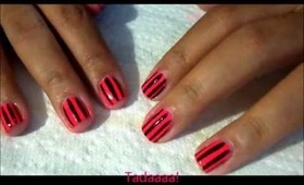 Pool Party Nails