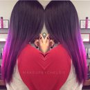 Plum to magenta color melt💜💕💗