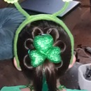 St paddys day hairstyle
