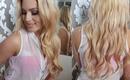 Hair Tutorial ♡ Loose, Feminine Waves/Curls ♡