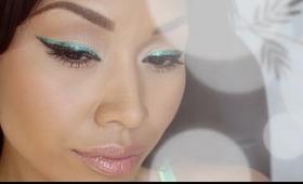 ♡ Back To School Makeup: Glitter Eyeliner ♡