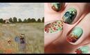 Nail Art Les Coquelicots | Claude Monet