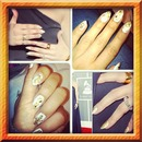 Jlo inspired nails!!