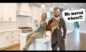 EMPTY HOUSE TOUR! | AMANDA ENSING