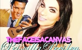 Priscilla Presley Makeup Tutorial Inspired