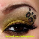 Golden Leopard Eye