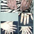 Fan Nails Design