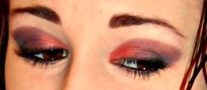 Done using Mary Kay eyeshadows