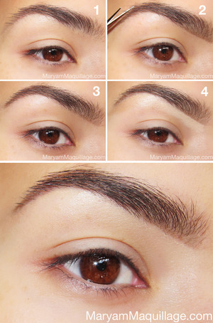 My brows, Anastasia Beverly Hills style. I've written a very thorough post detailing everything you need to know about achieving your perfect brow. Check it out and post your questions in the comments section: http://www.maryammaquillage.com/2012/12/my-brows-anastasia-style.html
