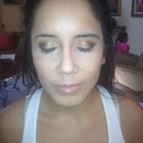 Simple Glam. Wedding Trial :)