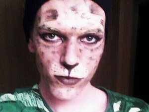 Leopard boy! (Thanks for the helpful tutorial Petrilude!)