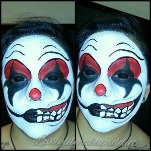 Evil jester @lovelylilmakupaddict