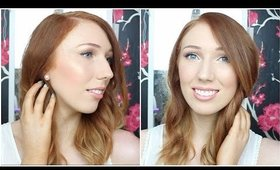 Back to School Makeup Tutorial! Glowy + Fresh | DRUGSTORE MAKEUP
