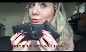 Back to School Makeup One Brand Tutorial: ELF