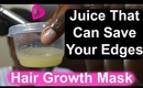 DIY Natural HAIR MASK for Thinning, ALOPECIA, or Excessive BREAKAGE 4c Hair: Onion & Ginger Juice