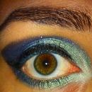 Mermaid-y Aquatic eyes