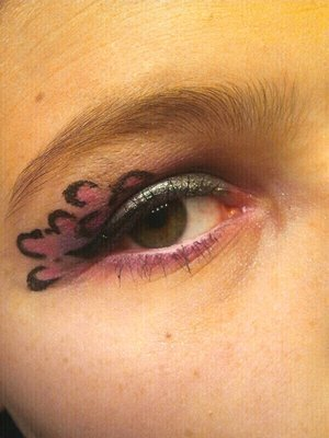 Pink Cheeta!  Inspiration; I've seen pictures videos and more, on people doing cheeta looks! Thought I might try it out. Enjoy!