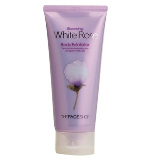 The Face Shop Blooming White Rose Body Exfoliator