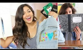 DIY Backpack + School Supplies Giveaway!!