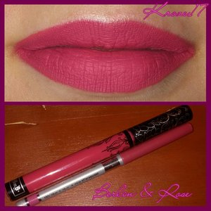 It's only been 2 hours but I  think I'm in love with Kat Von D 's Liquid Lipsticks! I have Berlin on today with Covergirl Lipliner in Rose. I think I need all the colors! :D #katvond #liquidlipstick #everlastinglipstick #Berlin #covergirl #rose #Makeup #matte #mattelips #makeuplook #lotd #beauty #Beautyshot #beautyproducts #instabeauty #instamakeup #kroze17