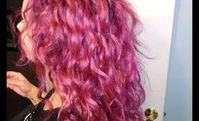 Dying my hair with SPLAT Lusty Lavender (no toning)